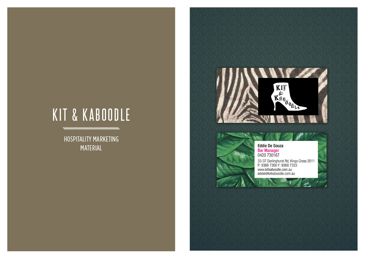 Poster design kit - Kit Kaboodle Opened In Kings Cross At The End Of 2008 And Crooked Micks Delivered Quirky And Fun Stationery And Poster Designs Taking Our Cues From The